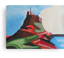 Lindisfarne castle - Holy Island Canvas Print