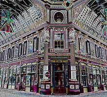 Leadenhall Market Art by DavidHornchurch