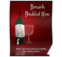 Breakfast Wine! Poster