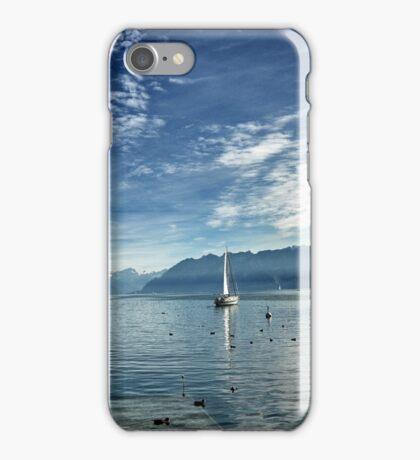 Lac Leman iPhone Case/Skin