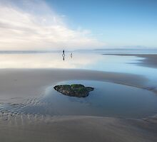 A Walk Along the Beach by Heidi Stewart