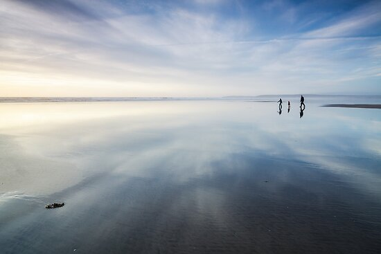 Beach Walkers by Heidi Stewart