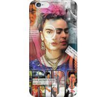 frida kahol iPhone Case/Skin