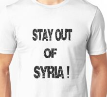 Stay out of syria T-Shirt