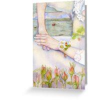 Banc de jardin Greeting Card