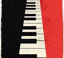 Piano keys by Lautstarke