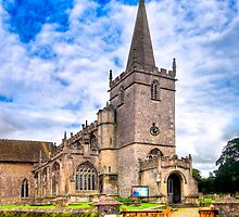Church of St. Cyriac - Village of Lacock by Mark Tisdale
