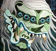 Devil Head Ghost by Elizabeth Dibois