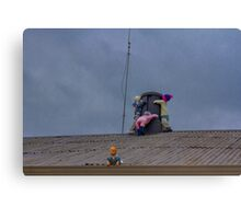 Chimney Huggers Canvas Print