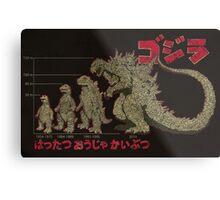 Evolution of King of Monsters Metal Print
