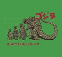 Evolution of King of Monsters Kids Clothes