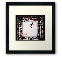 Muhammed Ali after knocking out Cleveland Williams Framed Print