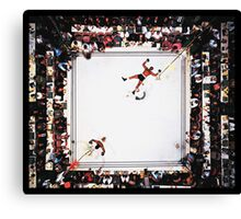 Muhammed Ali after knocking out Cleveland Williams Canvas Print