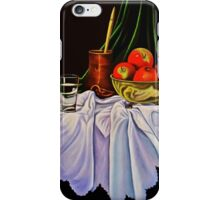 Still Life with Apples iPhone Case/Skin