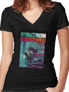 Dynatron Mission Women's Fitted V-Neck T-Shirt