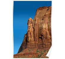 Monument Valley Cliff Poster