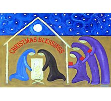 CHRISTMAS BLESSINGS 2 Photographic Print