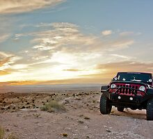 Jeep Sunset by •Kim Reiten•