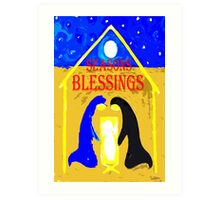 SEASONS BLESSINGS Art Print