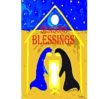 SEASONS BLESSINGS Photographic Print