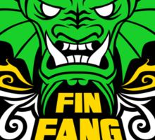 Fin Fang Boom! Fireworks Sticker
