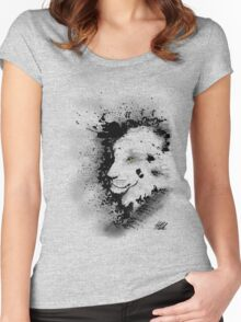 Ink Lion Women's Fitted Scoop T-Shirt