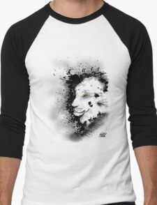 Ink Lion Men's Baseball ¾ T-Shirt