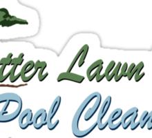 Better Lawn Service Sticker