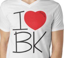 Bone Kandi - I Love BK Mens V-Neck T-Shirt