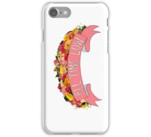 Flowery All Time Low Case iPhone Case/Skin