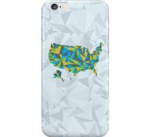 Abstract America Summer Nights iPhone Case/Skin