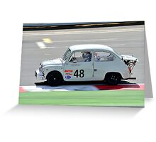 Fiat Abarth No 48 Greeting Card