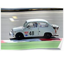 Fiat Abarth No 48 Poster