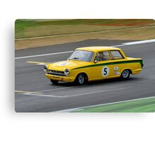 Ford Lotus Cortina No 5 Canvas Print
