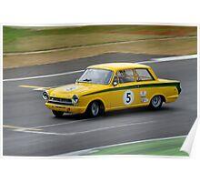 Ford Lotus Cortina No 5 Poster