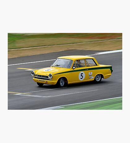 Ford Lotus Cortina No 5 Photographic Print