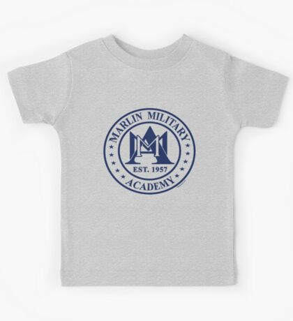 Marlin Military Academy Kids Tee