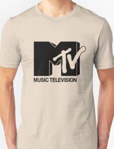 Black MTV Unisex T-Shirt