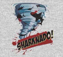 Sharknado - Sharks in Tornadoes - Shark Attack - Shark Tornado Horror Movie Parody T-Shirt