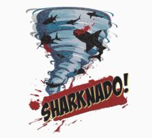 Sharknado - Sharks in Tornadoes - Shark Attack - Shark Tornado Horror Movie Parody Kids Clothes
