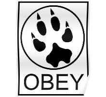 Furry Propaganda : OBEY Poster
