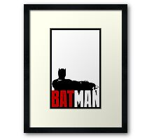 Batman Framed Print