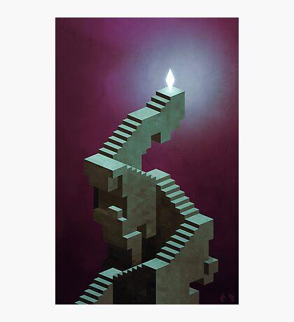 The Stairway Photographic Print