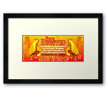 1957 2017 Chinese zodiac born in year of Fire Rooster  Framed Print