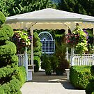 Minter Gardens Gazebo by Carol Clifford
