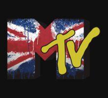 MTV Union Jack Flag Kids Tee