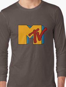 Retro MTV Long Sleeve T-Shirt