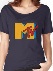 Retro MTV Women's Relaxed Fit T-Shirt