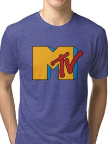 Retro MTV Tri-blend T-Shirt