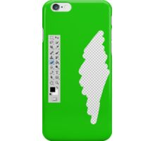 Photoshop eraser graphic design iPhone Case/Skin